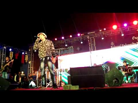 raiganj univercity live prograram Zubeen Garg (2016)