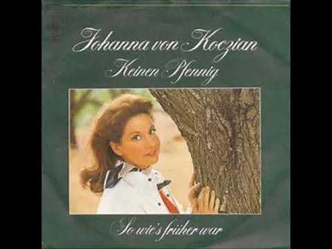Keinen Pfennig  -   Johanna v  Koczian 1974