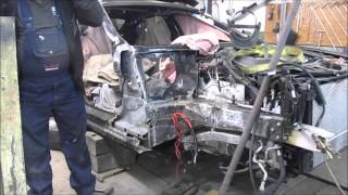 BMW 5. Body repair. Ремонт кузова.(Wheel wells replacement. Замена боковины лонжерона. Donation on development of the channel Пожертвование на разви..., 2016-01-22T18:44:07.000Z)