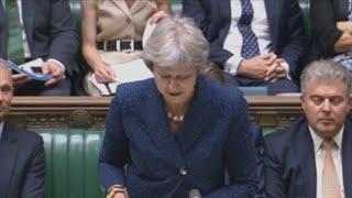 May afronta una moción de confianza a su liderazgo