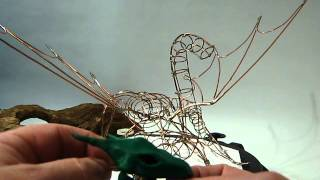 How to make A Dragon Sculpture part one