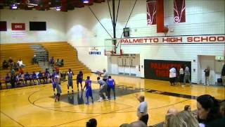 TCC Palmetto Tigers vs Southeast Thanksgiving Classic Tournament 11.30.13 part 1