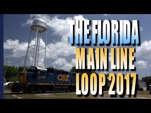 The Florida Main Line Loop May 2017