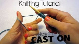 HOW TO KNIT - STEP 1