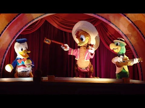 Gran Fiesta Tour Starring The Three Caballeros At Walt Disney World's Epcot
