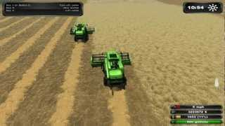 Farming Simulator 2011 Platinum Edition Harvaresting