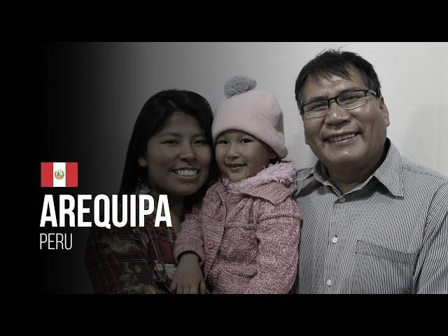 O avanço do Evangelho em Arequipa - Peru