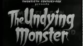 The Undying Monster Rare Werewolf Classic ~ 1942