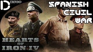Heart of Iron IV Spanish Civil War #1