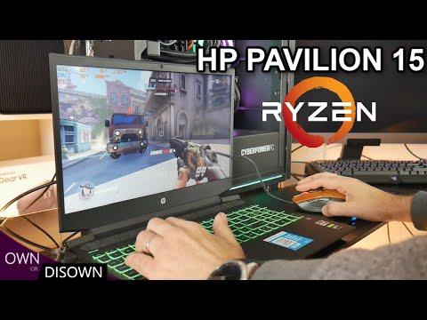 10 Games tested ! HP PAVILION 15 GAMING 2020 - RYZEN 4600H