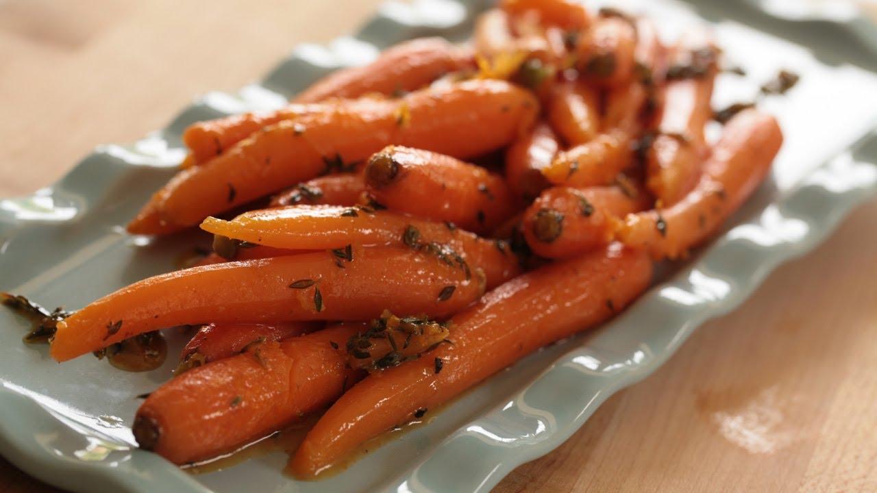 Honey Glazed Carrots W Orange And Thyme Recipe Kin Eats Youtube