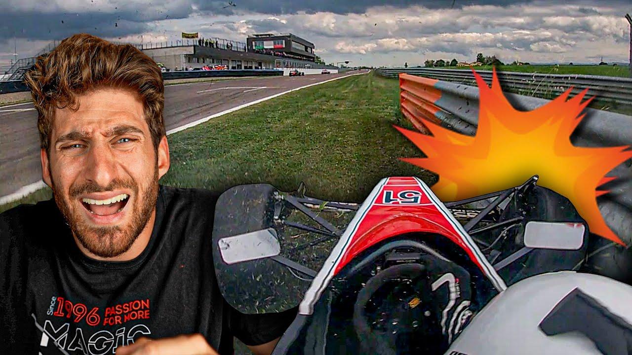 SCHIANTARE UNA PREDATOR CONTRO IL GUARD RAIL - Racing Is Life Predator's 2021 EP.5 Modena Gara 1