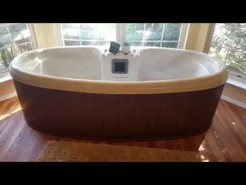 Qca Spas Silver Star 2 Person Indoor Outdoor Hot Tub Full Review Tips Youtube