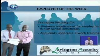 Job Centre: Employer of the week (Lavington Security Company)