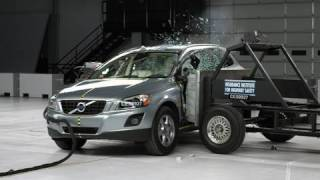 2010 Volvo XC60 side impact test