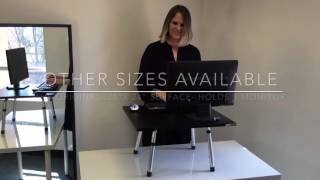 Stand Steady Executive standing desk