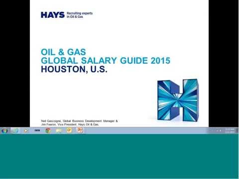 Hays Oil & Gas Global Salary Guide - United States