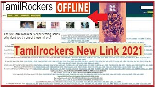 TamilRockers New website Link 2021| TR New | How to Open tamilrocker offline king vs godzilla | link
