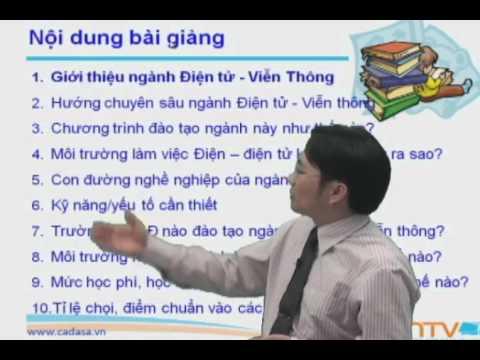 Thông tin tuyển sinh 2014 - Ngành Điện Tử Viễn Thông - Cadasa.vn