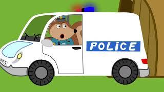 Fox Familiares y Amigos de dibujos animados para niños #728