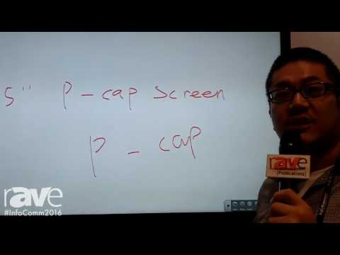 InfoComm 2016: Prima Technology Inc. Demonstrates 65″ Pro Cap Screen