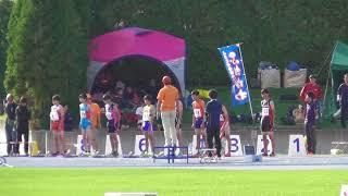 男子B110mH[0.914m/9.14m]決勝_第19回北海道ジュニア陸上競技選手権20170903