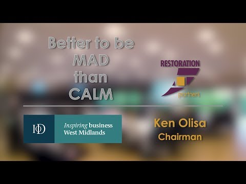An Audience with Ken Olisa OBE - The Worcester Business School Annual Lecture