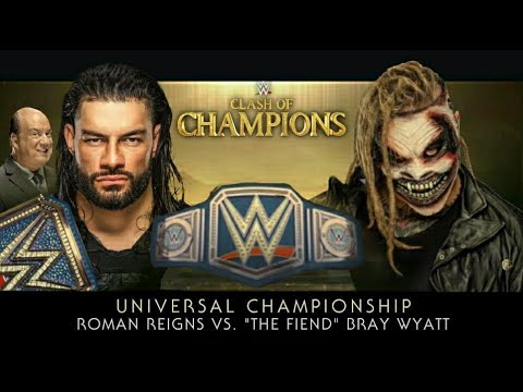 Download WWE Clash of Champions 2020 - Full Match Card Predictions HD