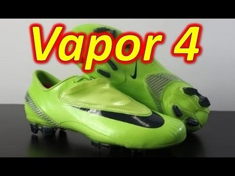 174df3d9849 Nike Mercurial Vapor IV 4 Citron - Retro Unboxing + On Feet - YouTube