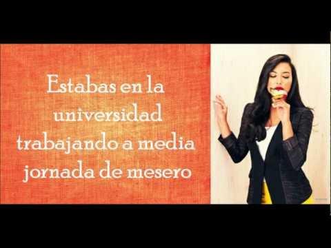 Mine / Glee (Subtitulado en Español)