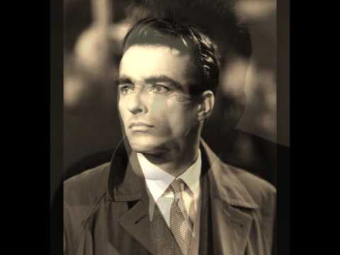 THE FIRST TIME I EVER SAW YOUR FACE: Montgomery Clift
