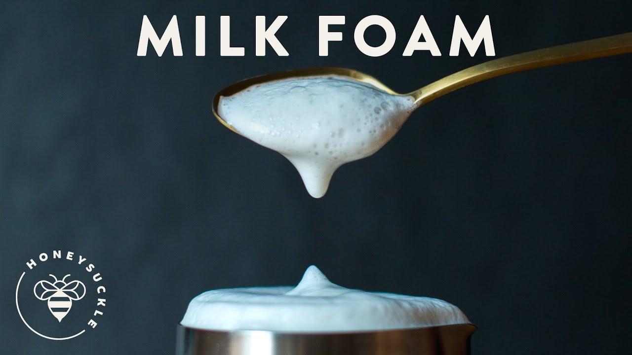 how to foam milk for a latte 3 ways coffee break series honeysuckle
