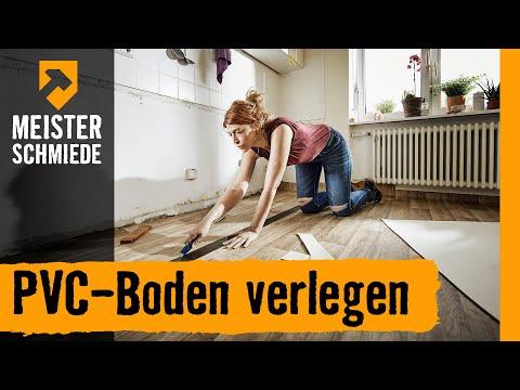 PVC-Boden verlegen   HORNBACH Meisterschmiede