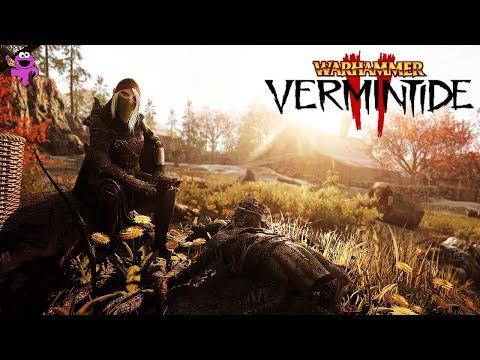 Warhammer Vermintide 2 Wood Elf Waystalker Gameplay - Against the Grain Walkthrough