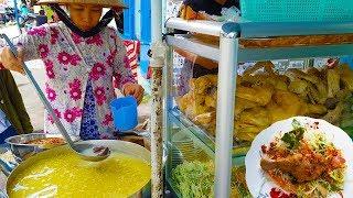 Tô cháo gỏi đùi vịt chỉ 30k ( Chị Mười 7 ngày 7 món ) ở Sài Gòn | street food saigon