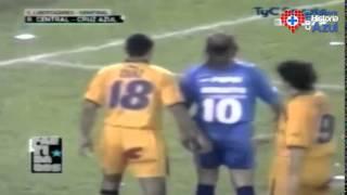 Cruz Azul vs Rosario Central (3-3) - Semifinal Vuelta - Libertadores 2001