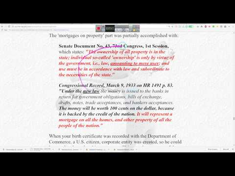 That Cusip Thing & Getting them Bills Paid.................Interested?????== By EeoN 2018 05 21