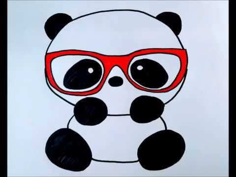Dibujo Facil Oso Panda Youtube