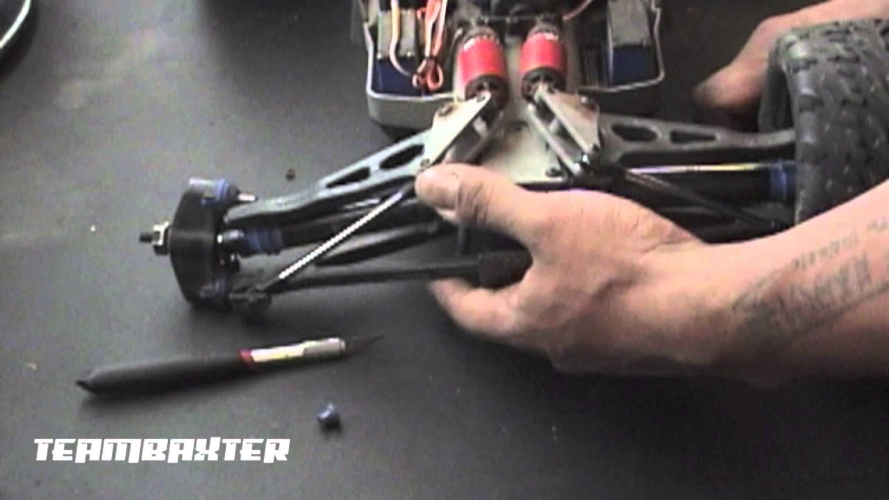Traxxas e revo upperlower arm replacement youtube pooptronica