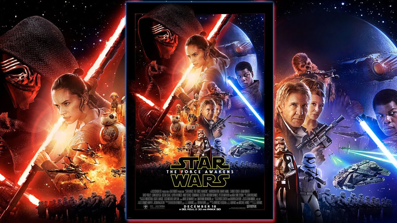 the force awakens theatrical poster and trailer announced - collider