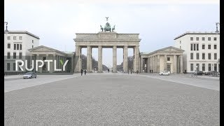 Coronavirus in Germany: live from Berlin as government announces shutdown