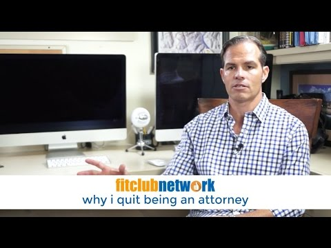 Why I Quit Being an Attorney
