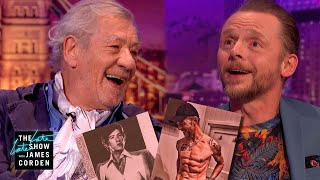 Hot Ian McKellen & Hot Simon Pegg Are Head Turners