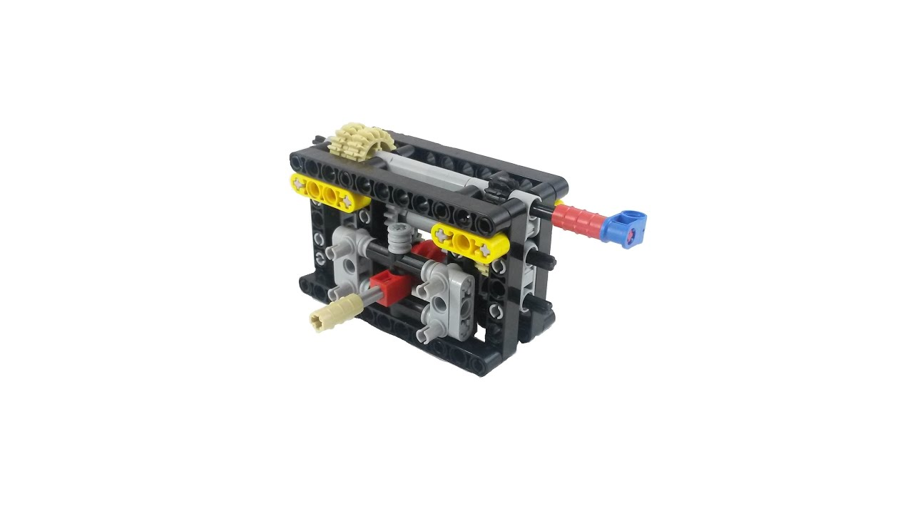 BUILD Lego 2 Speed Gearbox With Instructions