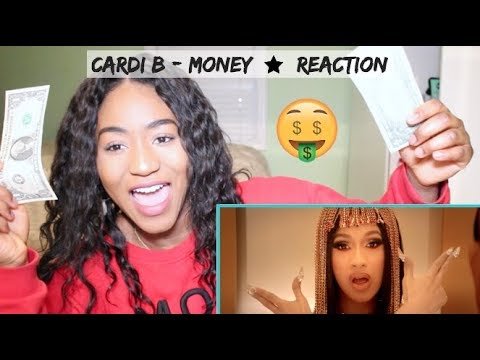 Cardi B - Money     REACTION