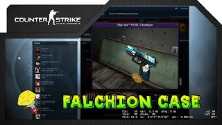 Cs:go - The Falchion Weapon Case Every Gun On Display