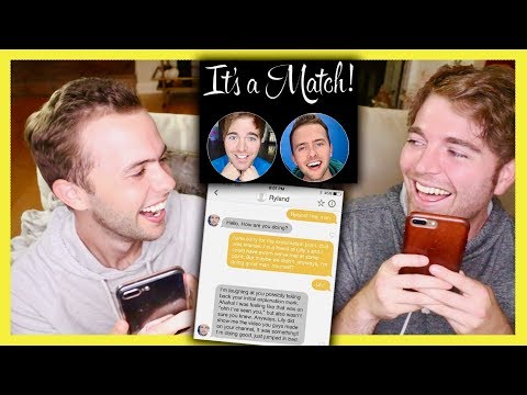 READING OUR TINDER CONVERSATION with RYLAND