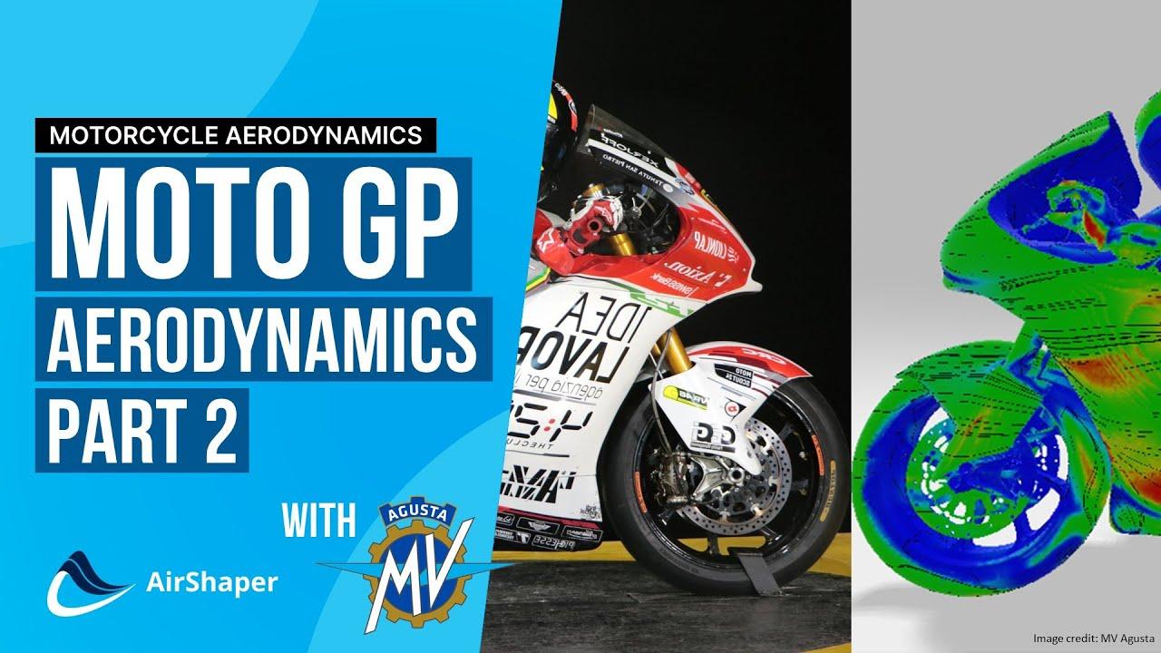 Race Talk with MV Agusta - How to Improve Moto GP Aerodynamics
