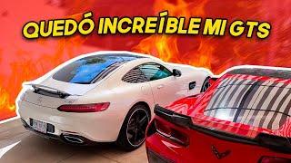 PRIMEROS CAMBIOS A MI AMG GTS.. | ManuelRivera11