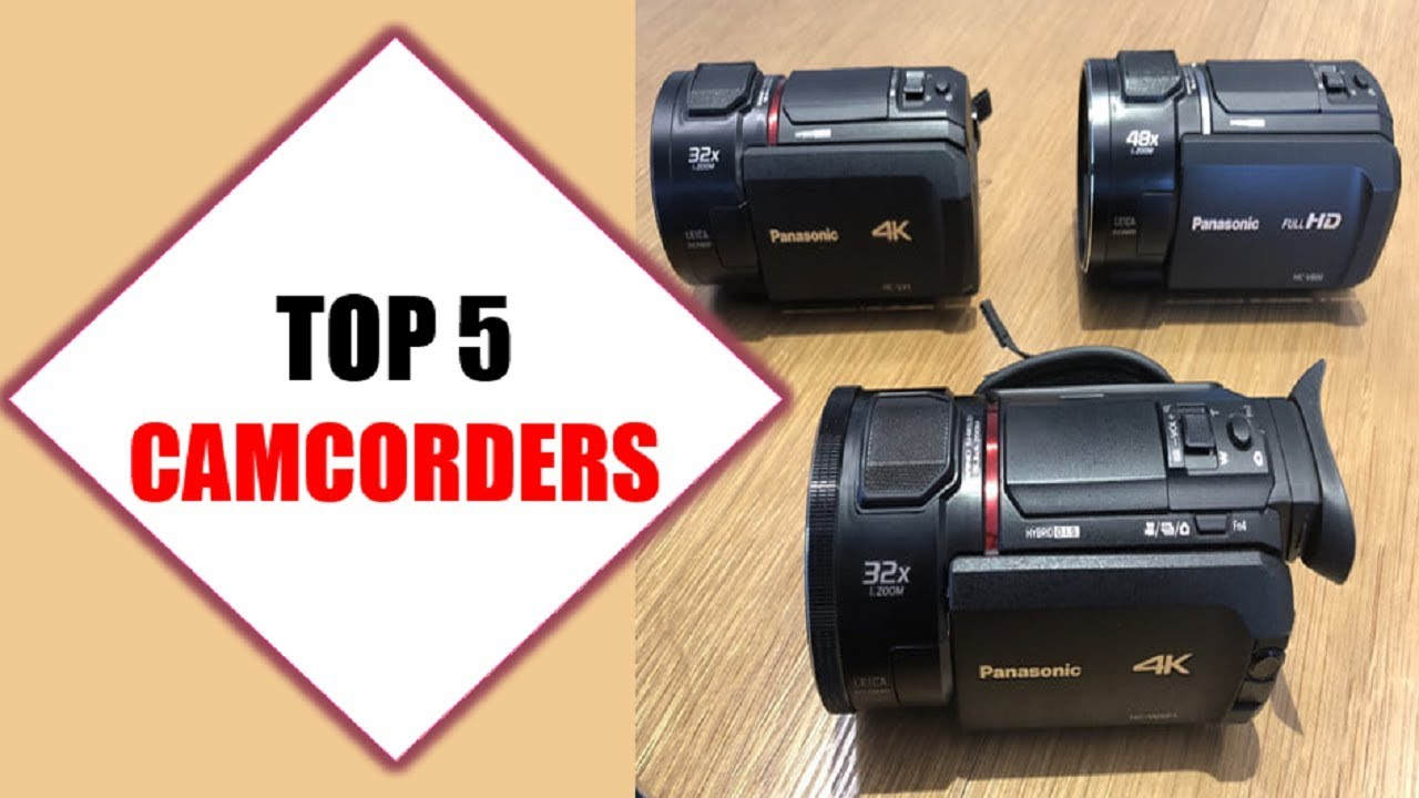 Top 5 Best Camcorders 2018 | Best Camcorder Review By Jumpy Express